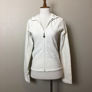 Lululemon Ivory/white Jacket zip-up